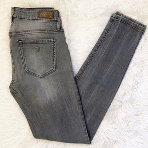 Guess Power Curve Mid Skinny Jeans